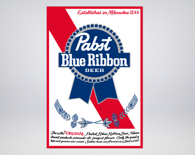 i enjoy the classics   Pabst Blue Ribbon Logo Wallpaper